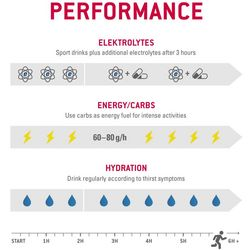 Energy supply during endurance competitions